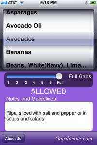The Gapalicious App